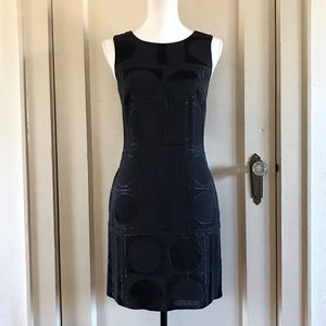 BANANA REPUBLIC - Black Sleeveless Sheath Dress 4